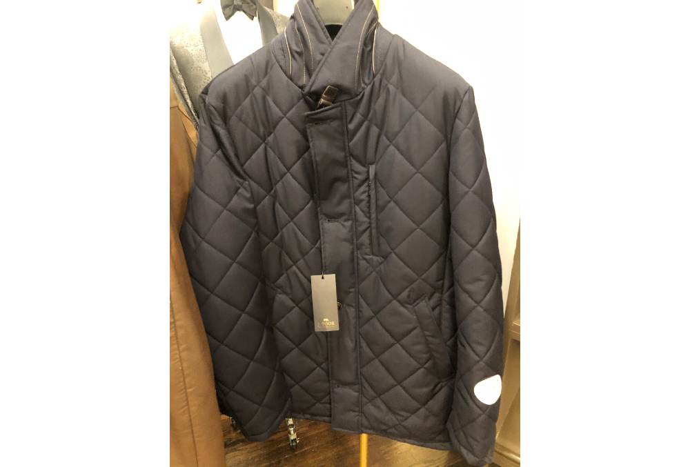 538 – OLIVER DIAMOND STITCH QUILTED JACKET (1)