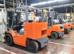Forklift lineup